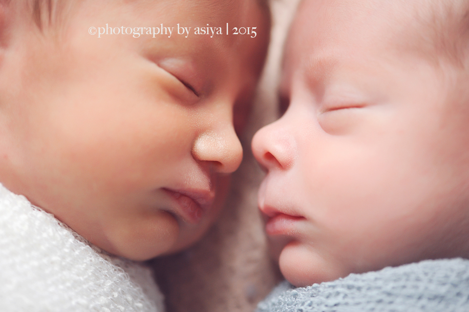 Newborn Twins UWS Newborn Twin Photographer Manhattan NYC  Photography by Asiya NJ Newborn