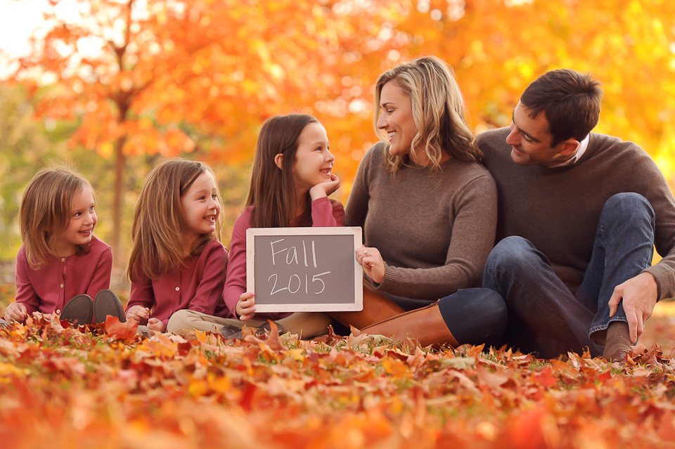 Fall Family Photo Shoot Westchester Family Photographer