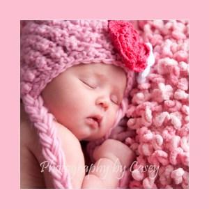 Posing newborns with hats