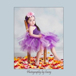 Photographer of little girls in tutus