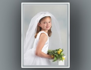 First Communion Portrait Photography