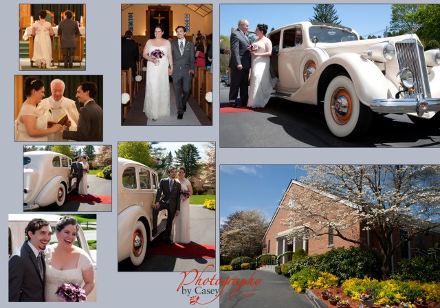 Wedding Photographer St. Jude's Church Norfolk County NMA