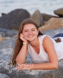 High School Senior Photography on the beach South Shore MA