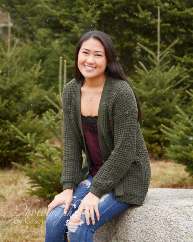 Photo Session at Millers Tree Farm No. Attleboro