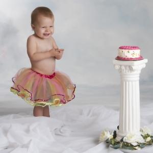 Cake Smashing Birthday Photographer