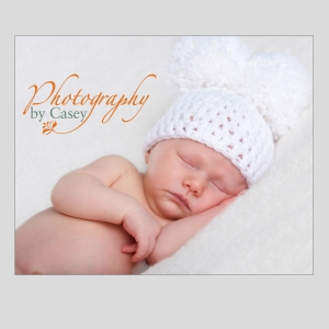 newborn sleeping baby in mouse ear hat photography