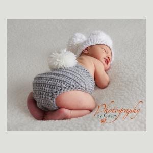 Photography of Newborn Sleeping Bab