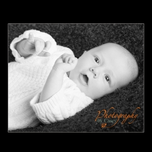 B&W Newborn Photography