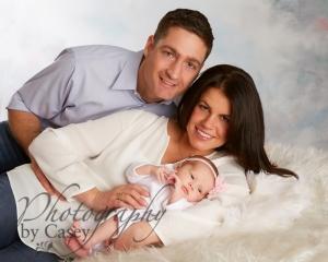 Mommy Daddy and Newborn Photography WrenthamMA