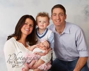 Newborn and family photography Wrentham MA