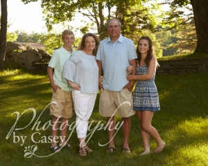 Family photography on location in Shapleigh Maine