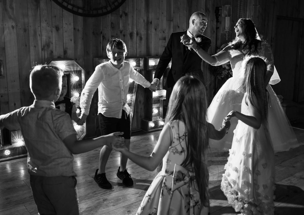 First dance with friends and family