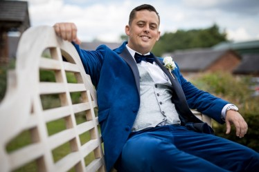 Relaxed groom image