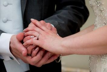Bride and Groom, Wedding rings, wedding ceremony