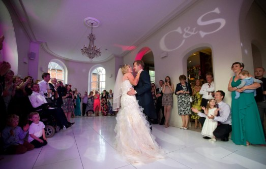 First dance with guests