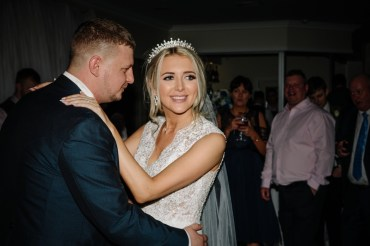First dance in the Wychwood Park function room