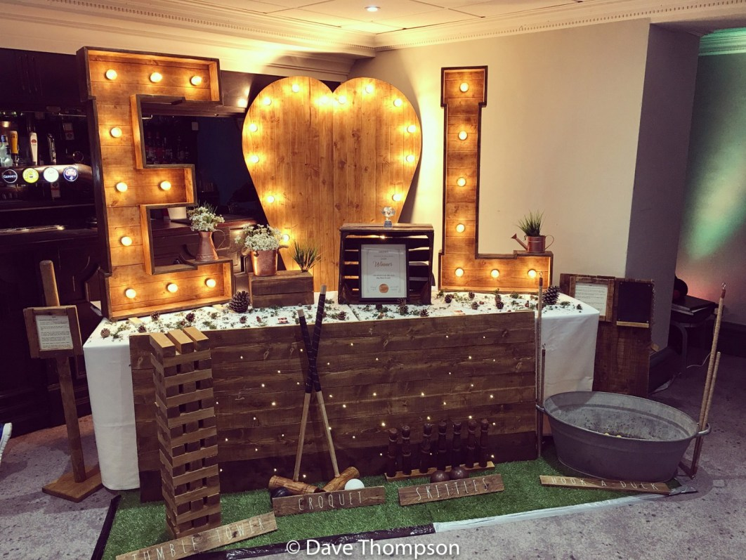 Big Wow Events stand at Cheadle Hotel Wedding Fayre