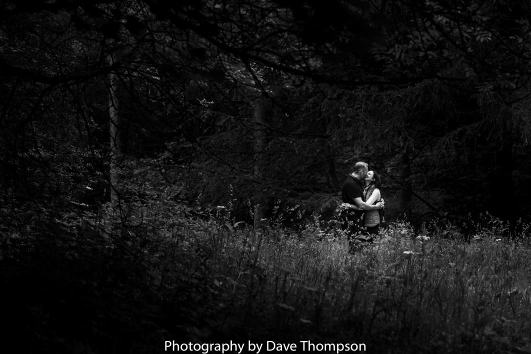 Macclesfield Forest pre wedding shoot
