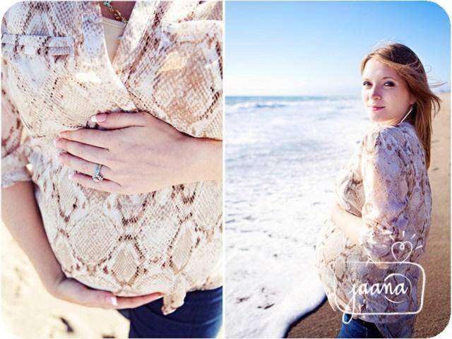 ventura county, oxnard shores beach, maternity session