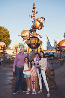 Theme Park Vacation Quick Family Session