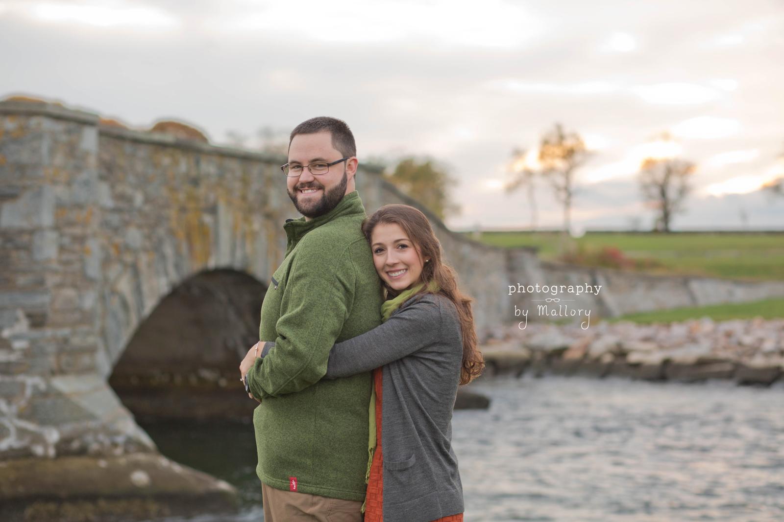 Chelsea and Andrews Engagement  Colt State Park  Bristol RI  Rhode Island Wedding