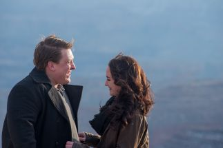 """Grand Canyon Engagement photography """"Duck on a Rock"""""""