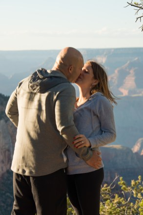 surprise Shoshone Point Engagement Proposal