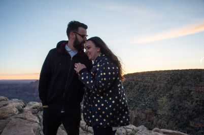 4.26.17 Lilli and Ryan Grand Canyon Engagement Proposal Terri Attridge-4869