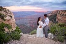 7.27.17 Kathleen and Gabriel Yavapai Point and Duck on a Rock Rock Grand Canyon South Rim Monsoon Season photography by Terri Attridge-47