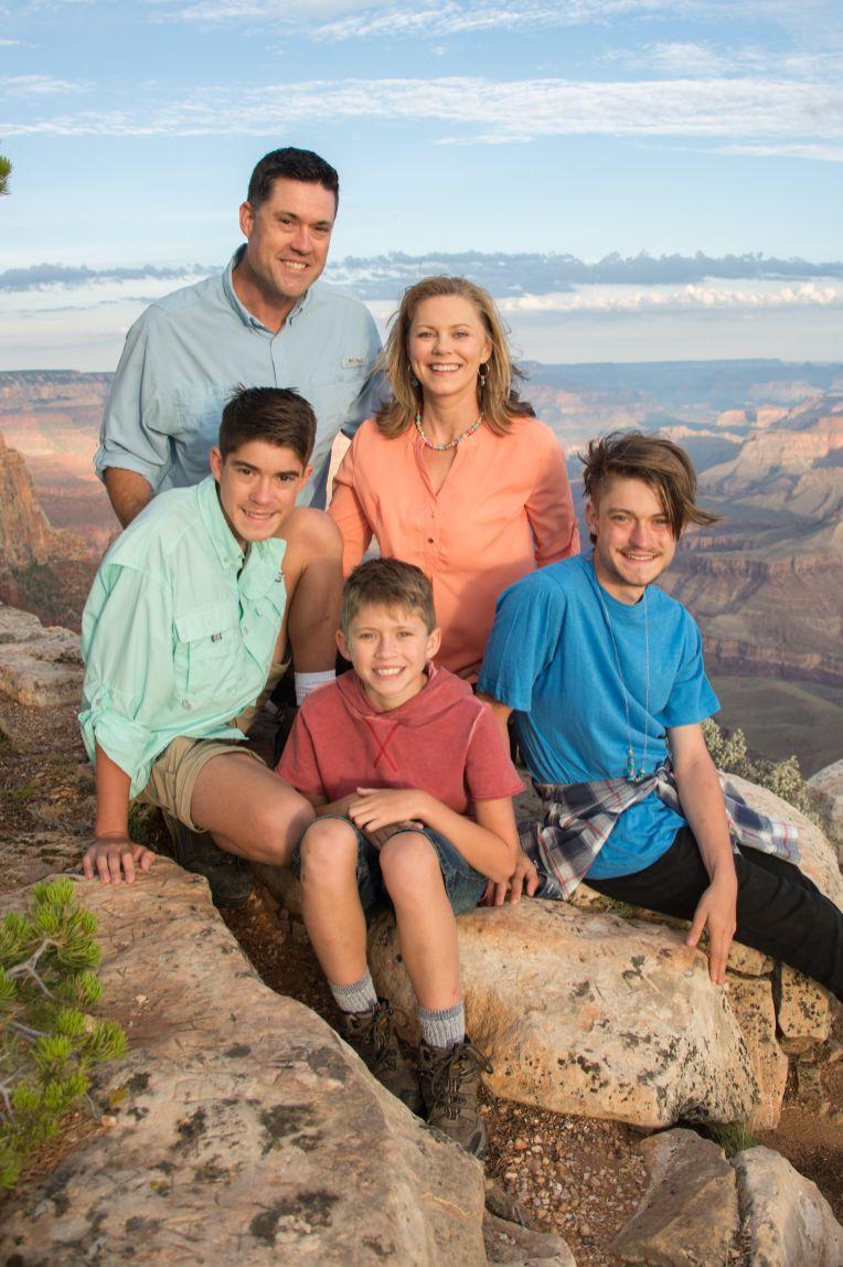 7.29.17 Family Portraits at Grand Canyon South Rim Lipan Point Terri Attridge-13