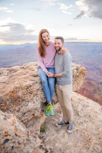 8.4.17 Jason and Alli - Surprise Engagement at Lipan Point Grand Canyon South Rim Terri Attridge-115