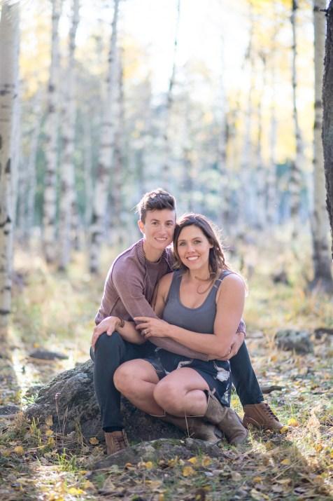 10.12.17 HR Marisa and Megan Engagement Photos in the Aspens Flagstaff Arizona Terri Attridge-150