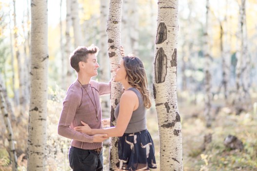 10.12.17 HR Marisa and Megan Engagement Photos in the Aspens Flagstaff Arizona Terri Attridge-222