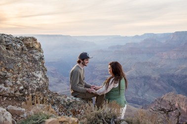 11.13.17 Lipan Point Grand Canyon South Rim Engagment Proposal photography by Terri Attridge-72