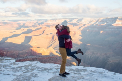 1.21.18 Ryan and Lizzy Engagement photos at Grand Canyon Photography by Terri Attridge-11