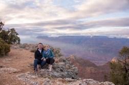 engaged at Grand Canyon National Park