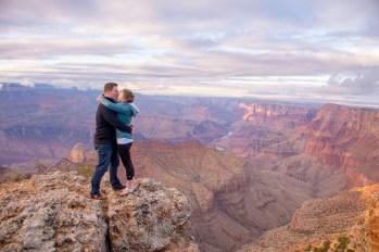 kissing photo- engagement proposal