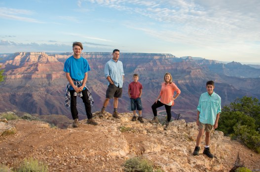 7.29.17 Family Portraits at Grand Canyon South Rim Lipan Point Terri Attridge-35