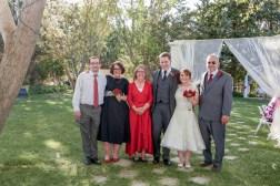 family wedding photos arizona