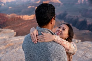 Wedding ring photo Grand Canyon