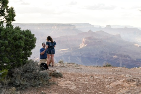 Grand Canyon Engagement Photography
