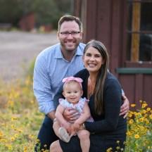 family sunflower photos