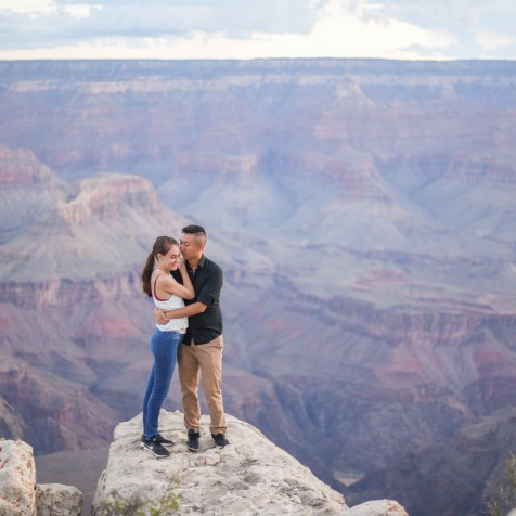 9.2.18 Eric and Amanda Engagement photos at Grand Canyon Photography by Terri Attridge-96