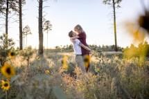 Engagement Proposal Kiss at Grand Canyon South Rim
