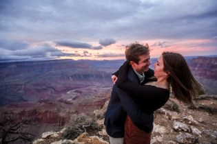Engagement destination photography