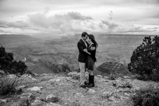 Arizona Photographer - Engagement Proposal at Grand Canyon