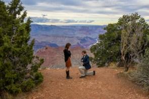 Grand Canyon engagement