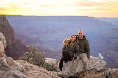 11.17.18 MR Grand Canyon Sunset Surprise Engagement Couples Photos photography by Terri Attridge-13