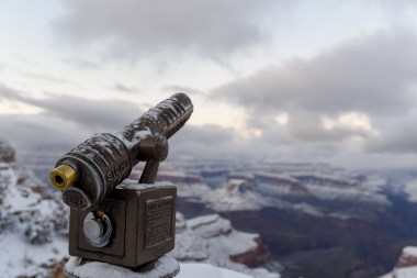 2.23.19 MR Grand Canyon Villiage in snow photography by Terri Attridge-30