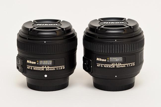 Nikon 50mm f/1.8G vs Nikon 50mm f/1.4G